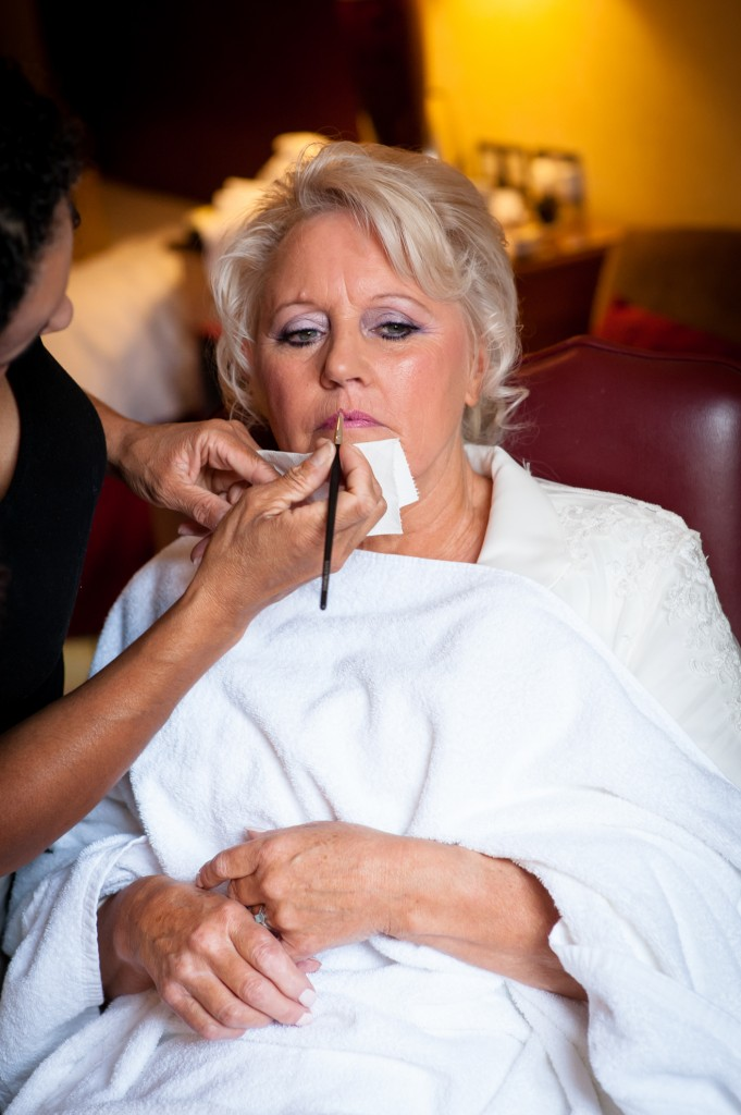 Wedding makeup for mature brides