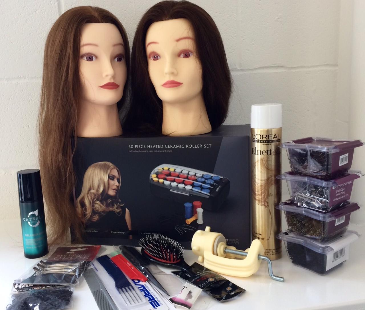 bridal hairstyling kit