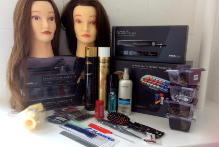 hair styling kit 6 styling amp curling kit create beautiful hair 1953
