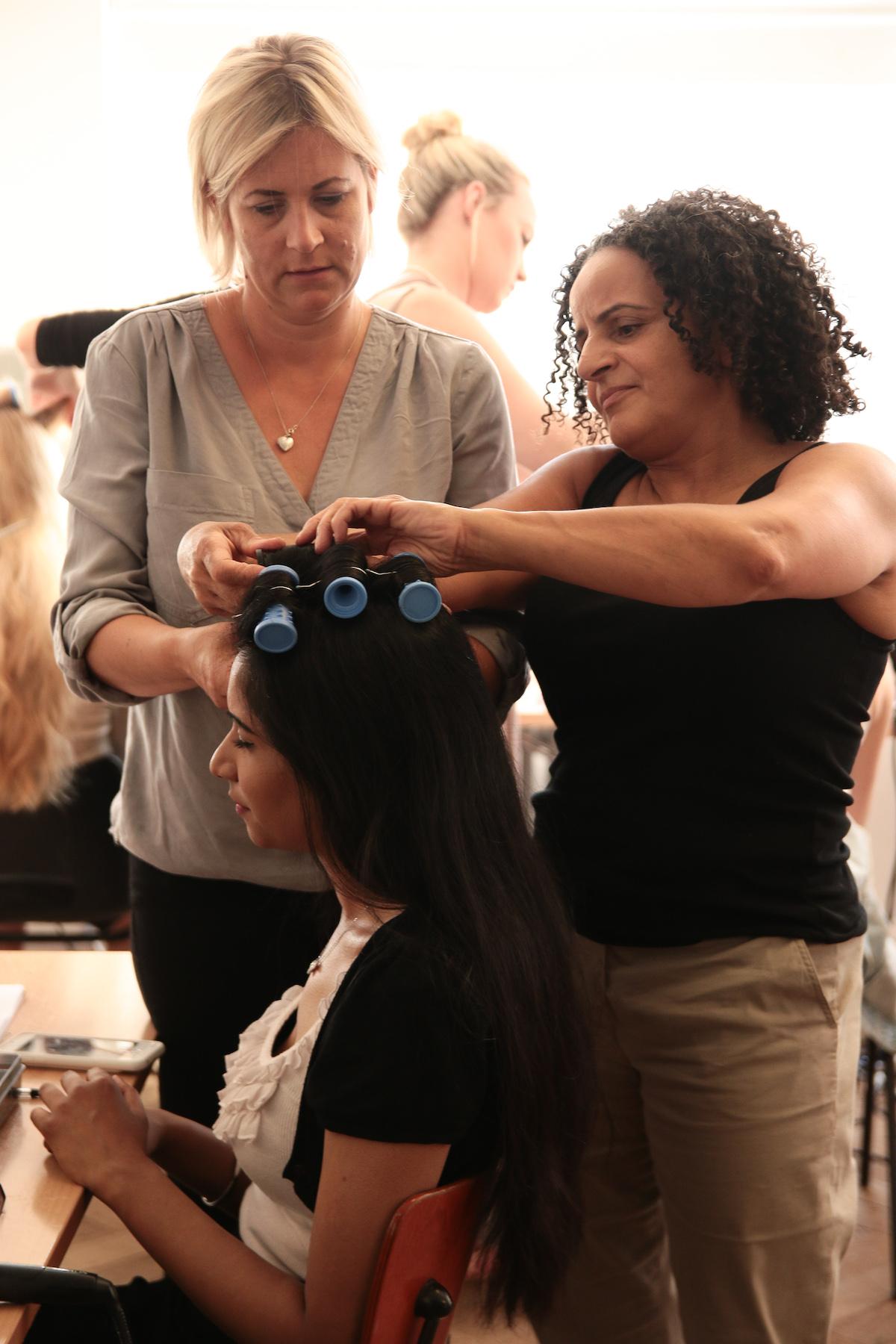 online bridal hair course