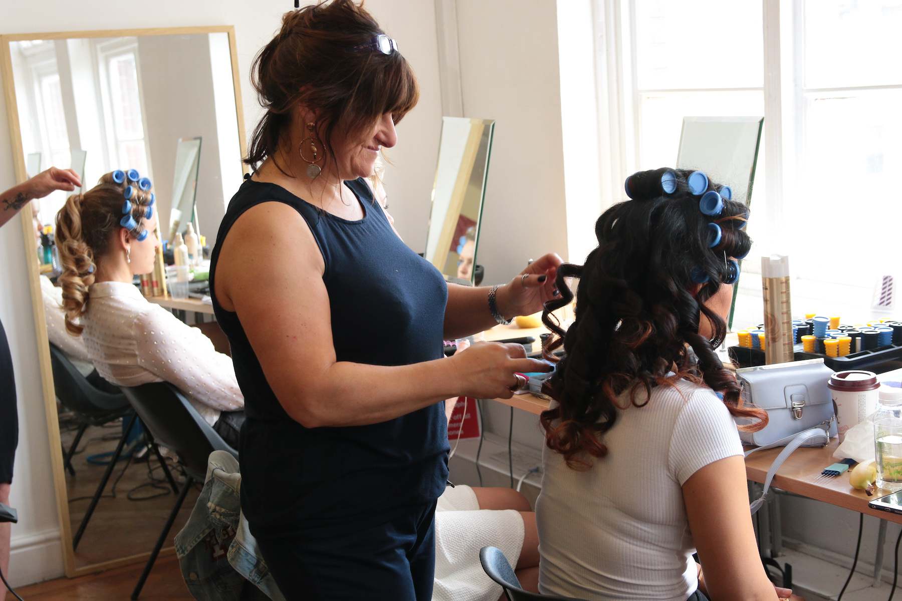 online bridal hair course
