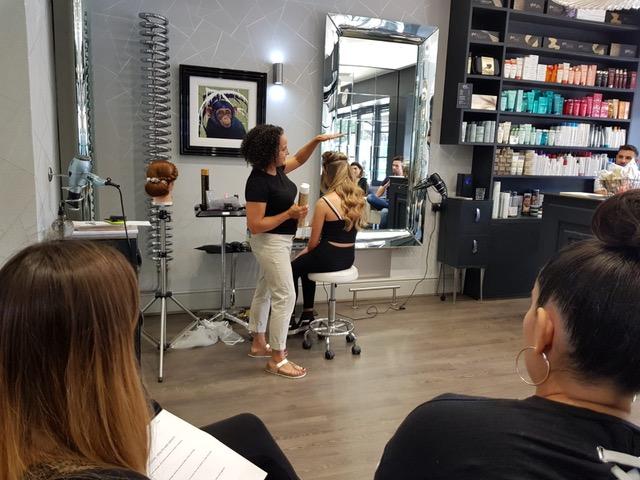 In-Salon Bridal Hair Course