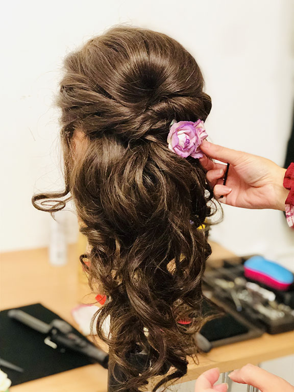 Hair Up Bridal Hairstyling Courses London Manchester