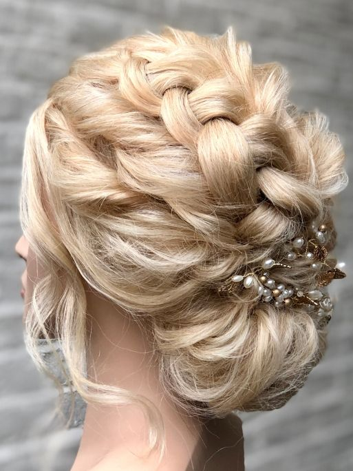Rich results on Google's SERP when searching for Braids Bridal hairstyle & hair up course