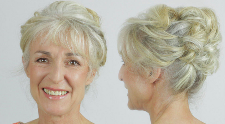 hairstyle tutorial for short hair mother of bride hairstyles by Pam Wrigley and create beautiful hair