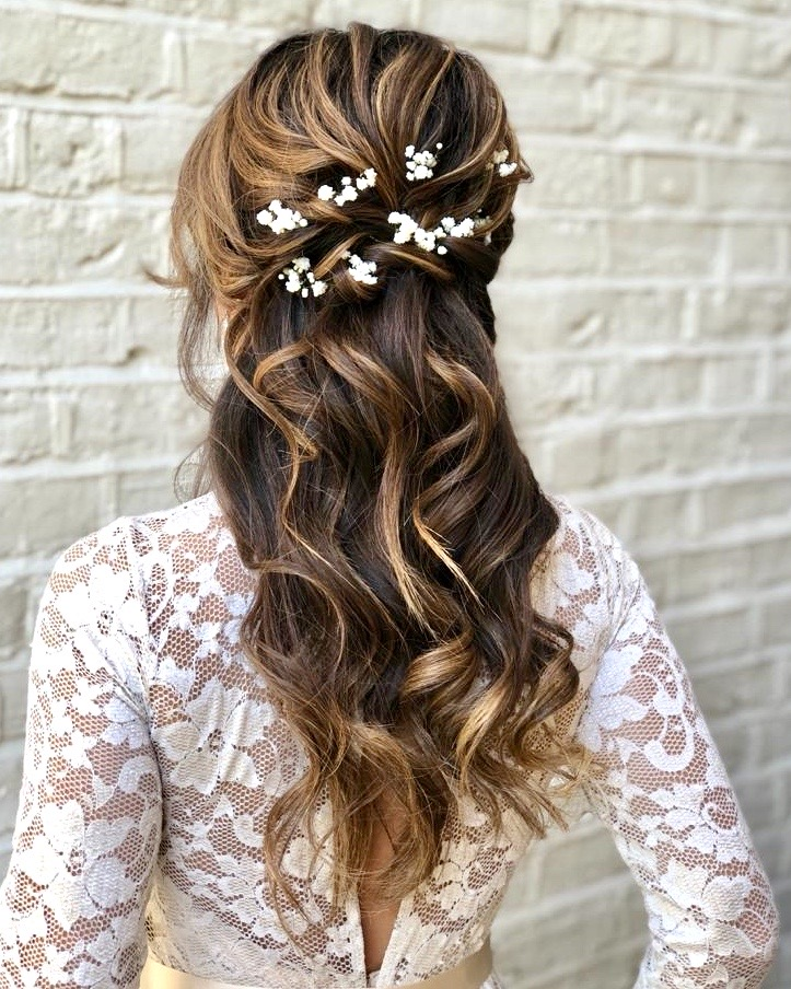 natural curls curling with tongs bridal hairstyle by Pam Wrigley